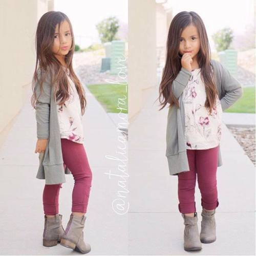 little girl winter style - First Day Of School Outfit Kindergarten