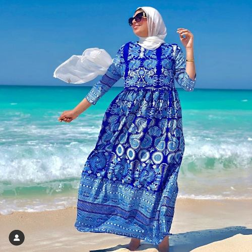 Spring Hijab Fashion Ideas For The Beach Just Trendy Girls